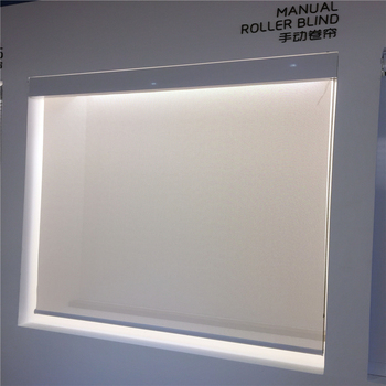 Square Upper Box Manual Roller Shade Blinds With Steel