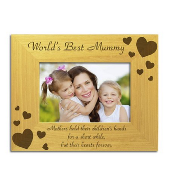 Solid wood customized photo frames