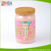 Custom private label spa gift natural pure crystal dead sea bath salts for body clean