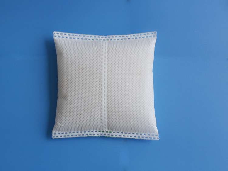 Reusable Silica Gel Desiccant Bag After Microwave Oven Baked
