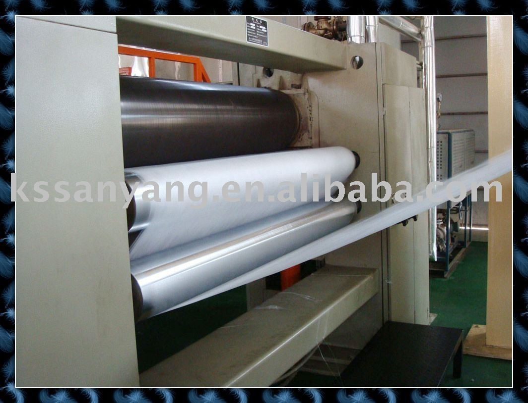 High quality pp nonwoven fabric making plant for shopping bag fabric