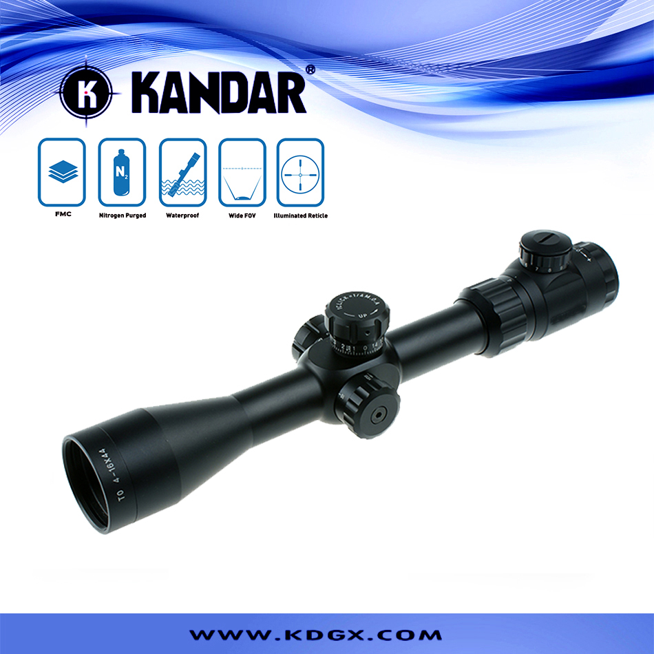 illuminated riflescope optical sight