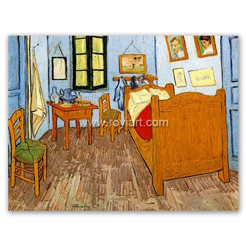 Camera Da Letto In Vincent\'s Arles 1888 Pittura Da Vincent Willem Van Gogh  - Buy Pittura Di Arte,Olio Riproduzione Pittura,Van Gogh Pittura A Olio ...