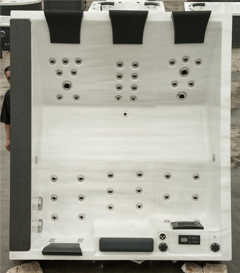 hydro massage tubs /whirlpool massage hot tub extra large, View hot ...