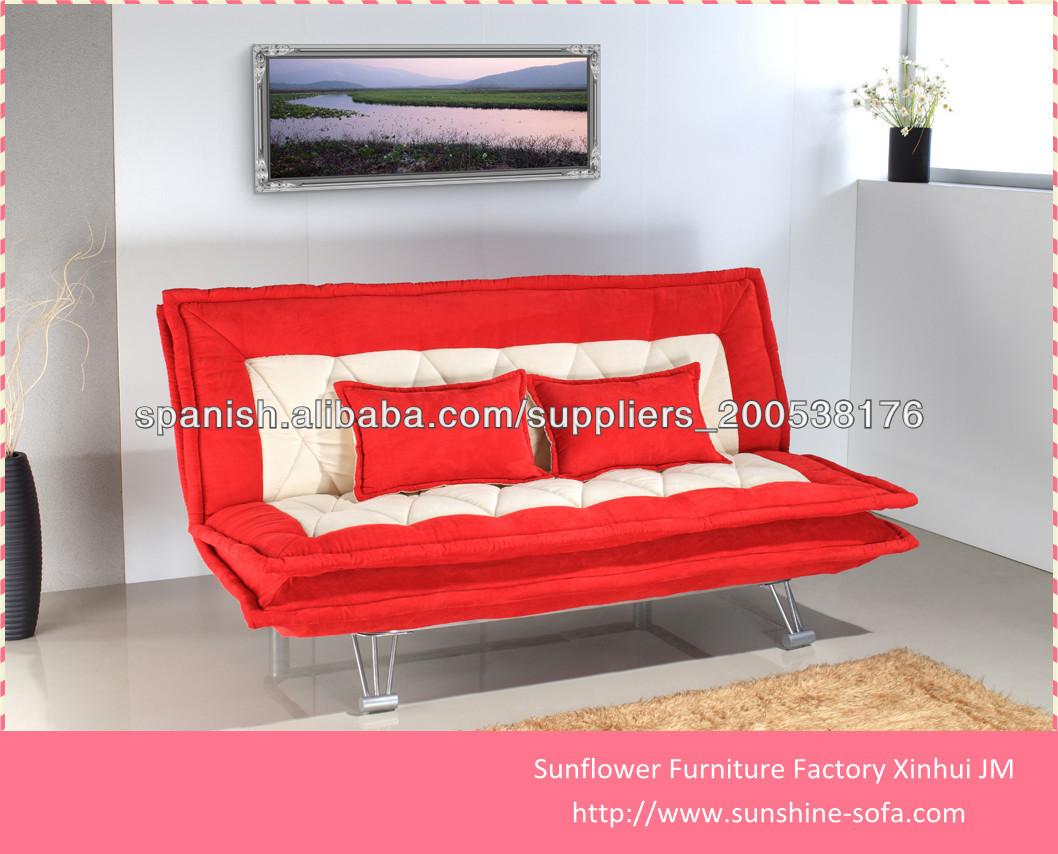 dos cojines cómodos Ocio sofá cama / futón sofá cama Sofás para la