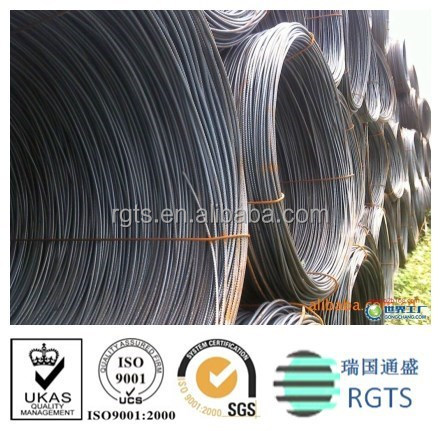 ASTM SAE1008 5.5mm wire rod