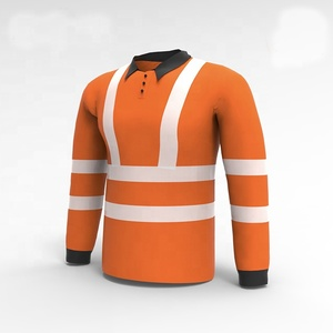 wholesale polyester safety long sleeve reflective polo shirt, garment factories bangladesh, garment manufacturer bangladesh, garment company bangladesh, OEM Garment Manufacturer