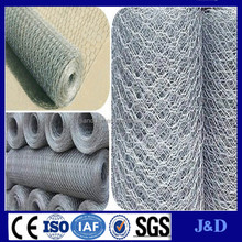 galvanized double twisted hexagonal wire mesh from factory
