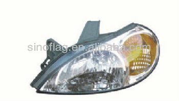 Head Light Used For Kia Rio 2001