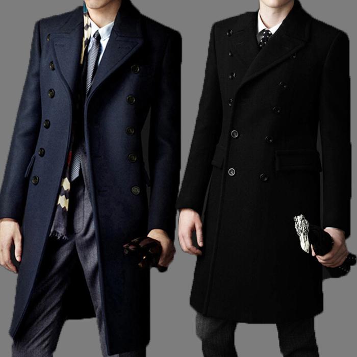 2021 Fall New Brand Bakham Long Trench Coat Wool Coat Winter Peacoat 2015  Men'S Dust Coat Mens Clothing Overcoat Men'S Coats # A4423 From  Longmian, $38.53 | DHgate.Com