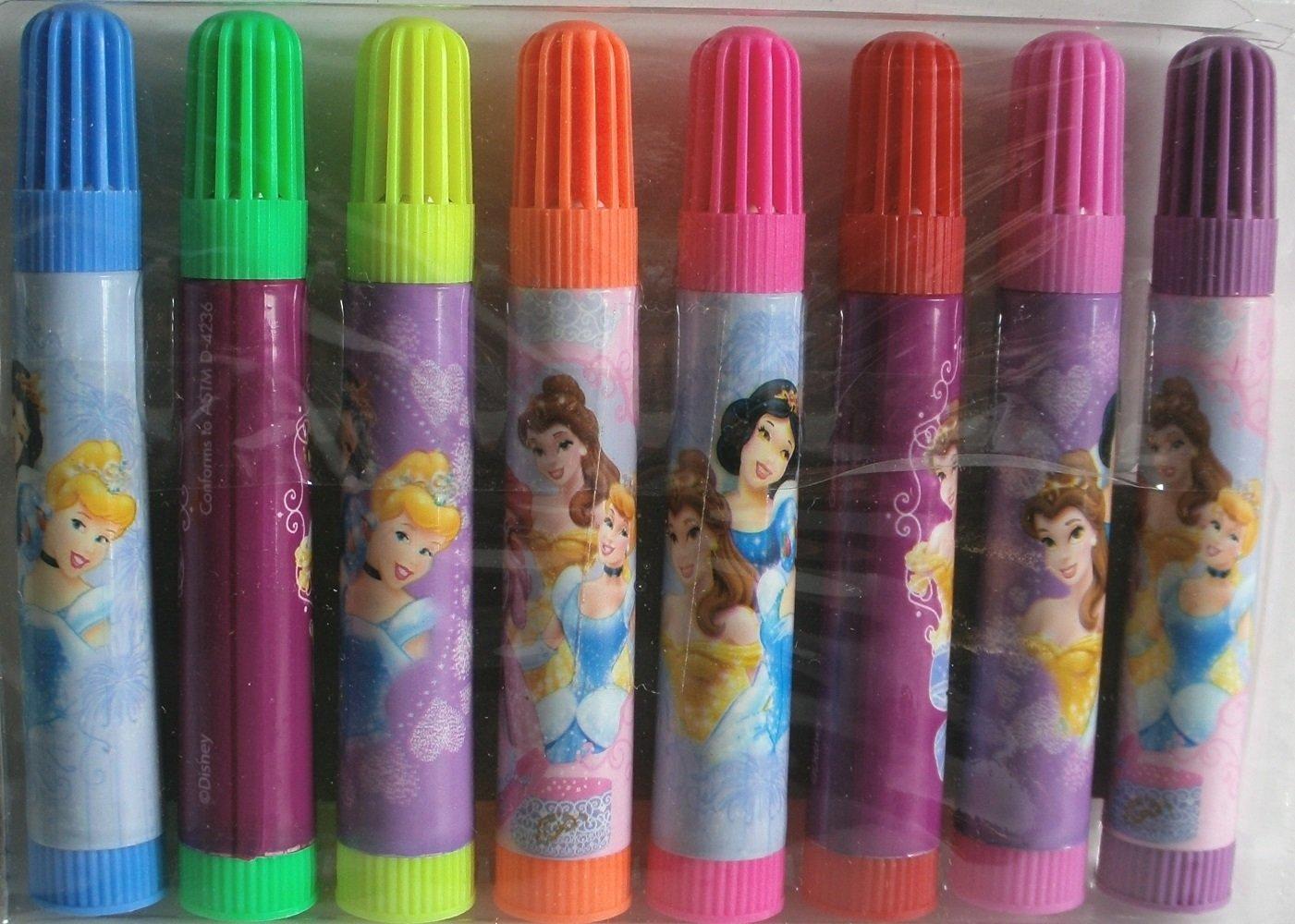 Disney Princess Stationery Marker Set, Pack of 8