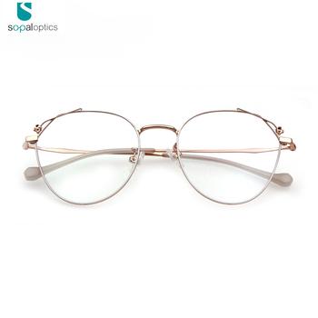 47afb95caea7 Double Color China Wholesale Designer Women flower Optical Frame Eyeglasses