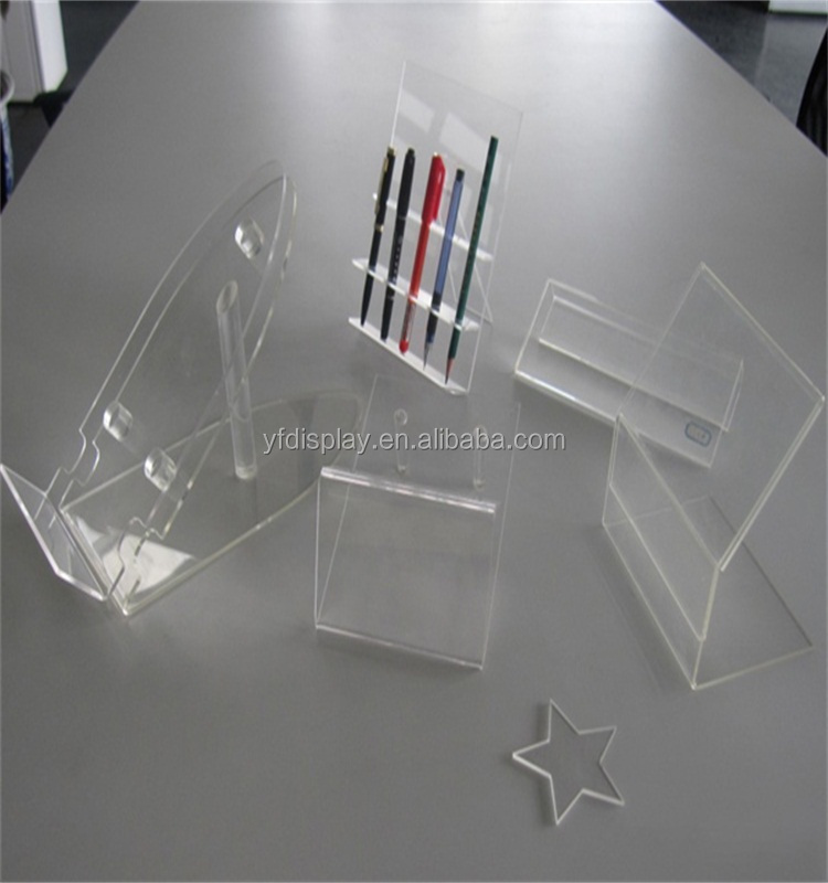 Factory Price Acrylic Office Supplies Pen Holder