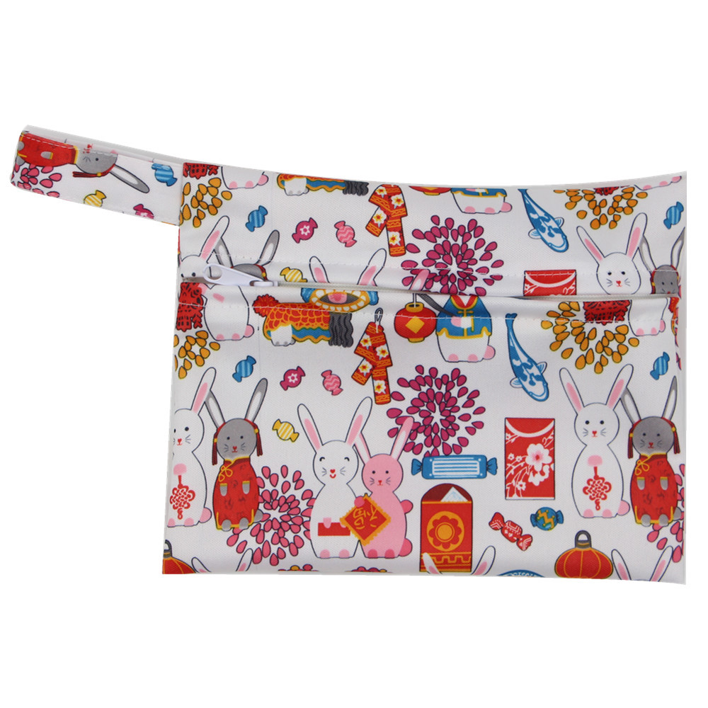 best selling mh oem reusable washable cloth diaper nappy bag