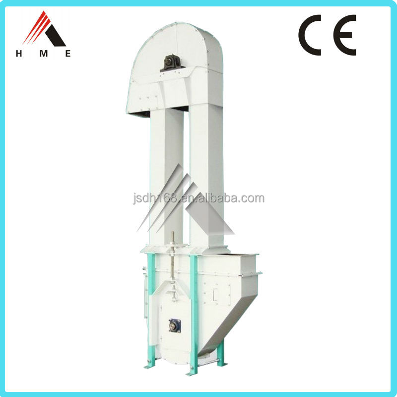 China Height Customized Smooth Convey Animal Feed Bucket Elevator