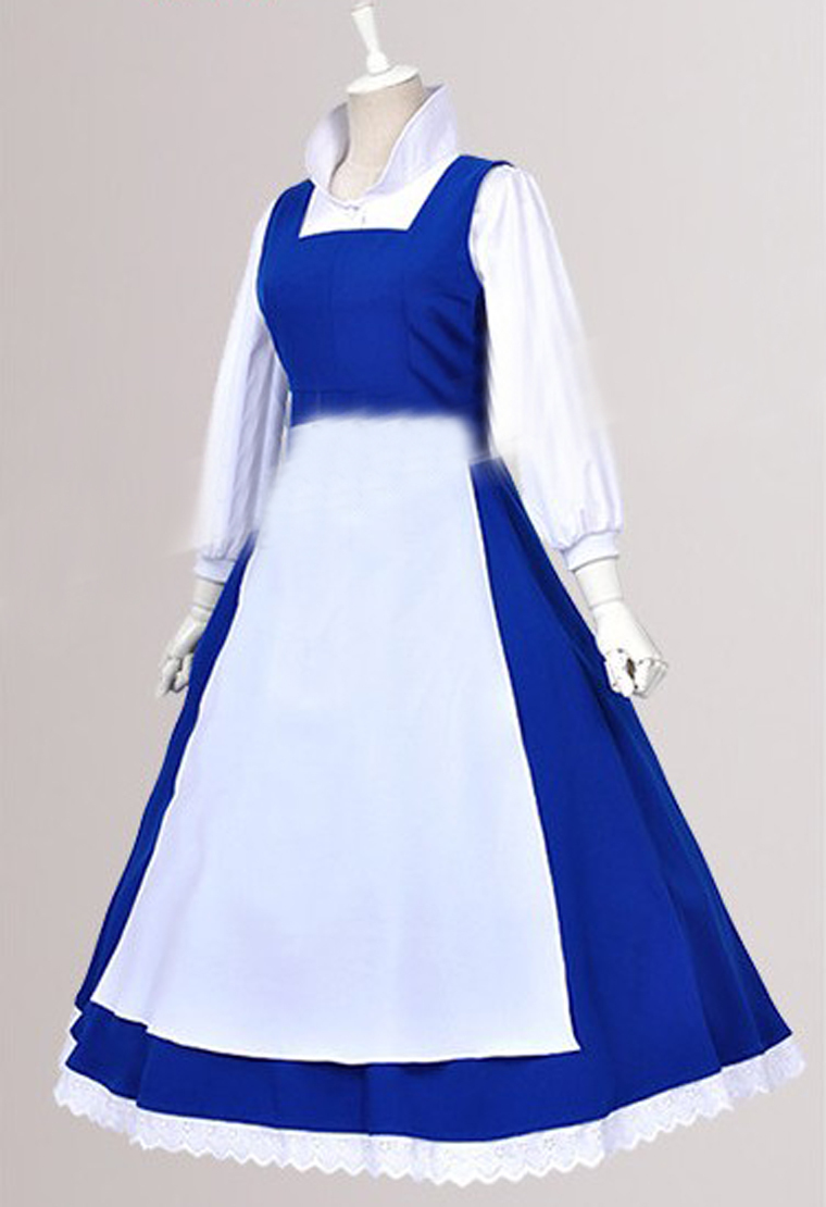 Belle beauty and the beast prom dress