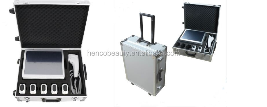 3D HIFU focused ultrasound professional in face lift/body slimming beauty machine