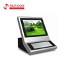 desktop wholesale info kiosk metal keyboard with 3G module