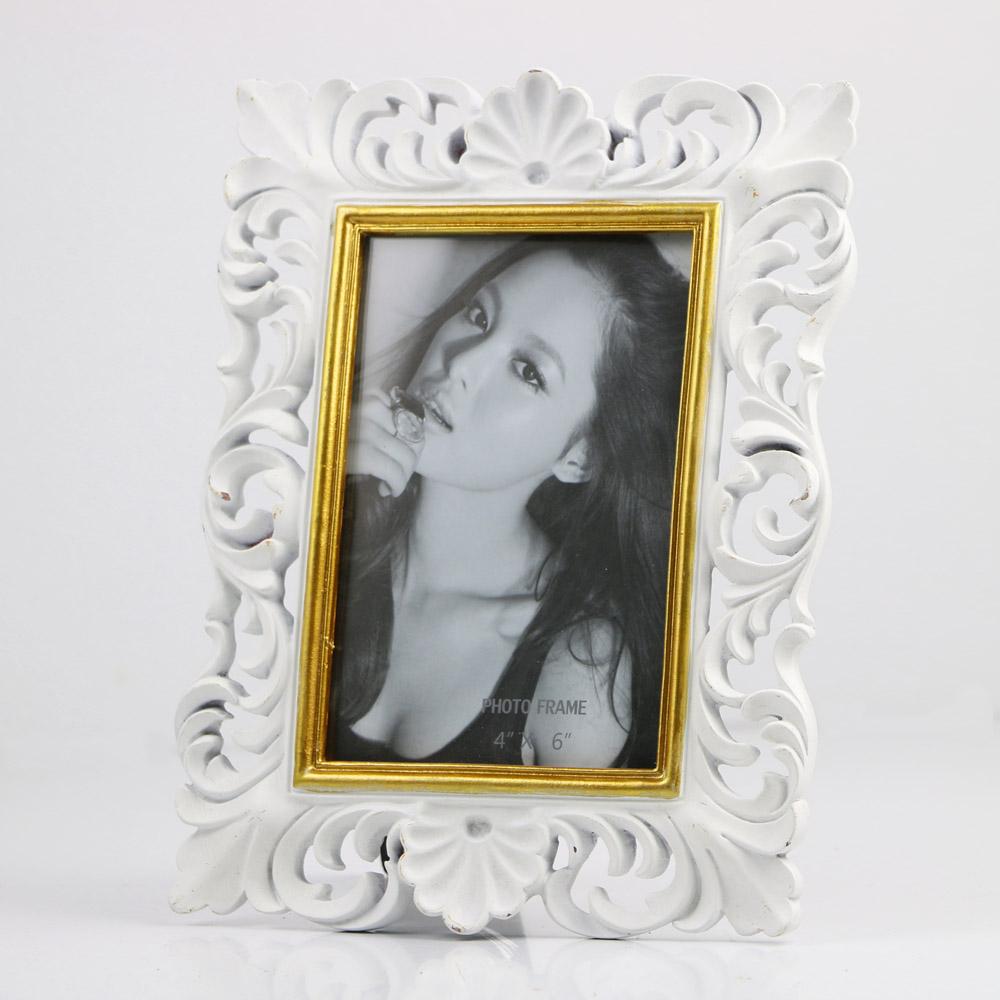 Recuerdo regalo blanco barroco Marco de imagen--Identificación del ...