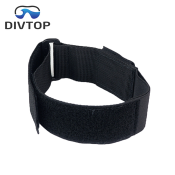 Commercial diving equipment knife straps