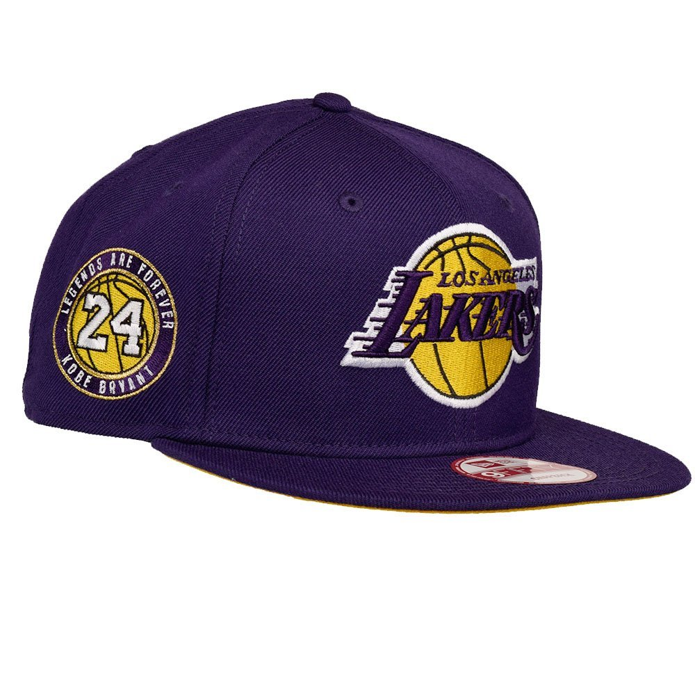 431de9ca02117 Get Quotations · Kobe Bryant Los Angeles Lakers New Era Retirement  Collection Ball 24 9Fifty Adjustable Fit Hat (