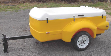 camping, traveling waterproof cars trailer