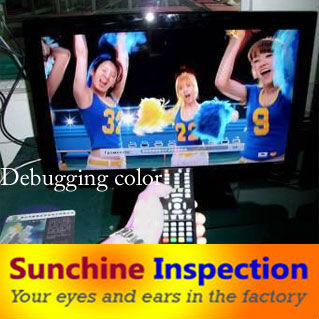 Best QC service for TV set running test Television system check in changshu and qingdao