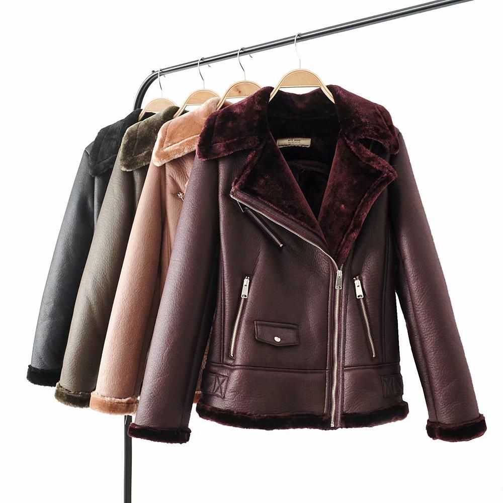 huge discount b7181 57591 giubbotti ecopelle donna all'ingrosso-Acquista online i ...