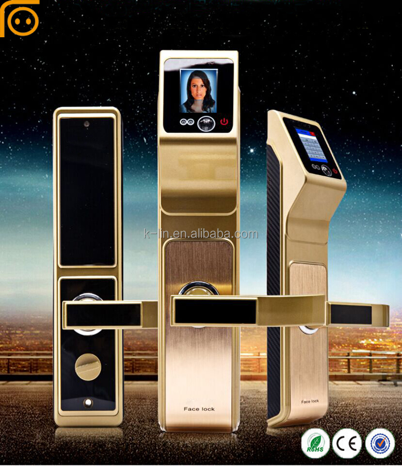 Smart rf Card Biometric Lock For Wooden Door