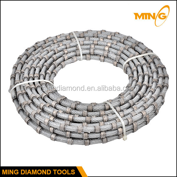 Stone Squaring And Profiling With Fast Cutting Diamond Wire Saw Used ...