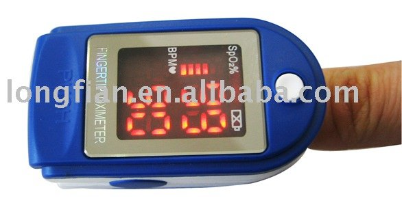 Portable pulse fingertip oximeter