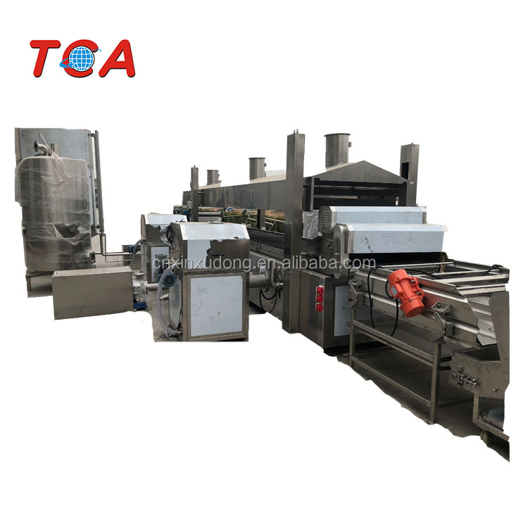 100KG/H Plantain Banana chips processing machine production line