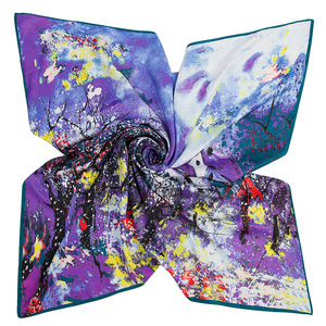chic leading trend direct factory price modern silk scarf