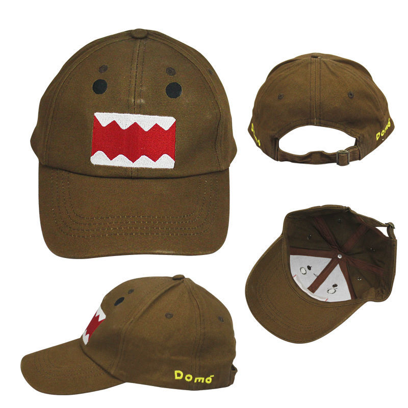 Anime Domo-kun high quality Cotton Baseball Cap Adjustable Hip Hop Sports 5d6d6f244969