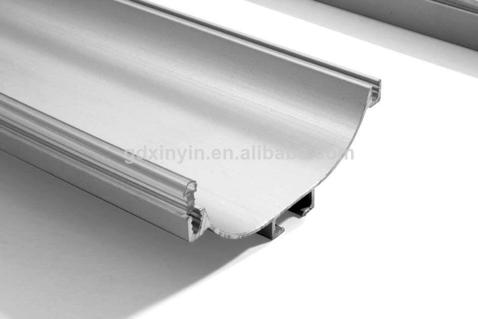 Invisible c estilo de manejar el perfil de aluminio de - Perfil aluminio blanco ...
