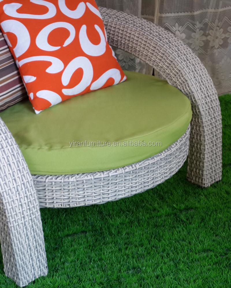 Synthetic plastic rattan sofa set waterproof outdoor and indoor furniture