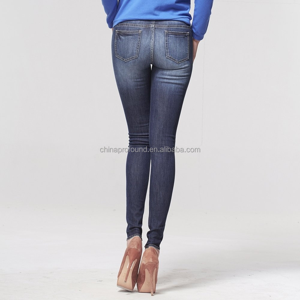 Hot Design Women Sexy Skinny Girls Tight Jeans Trousers - Buy ...