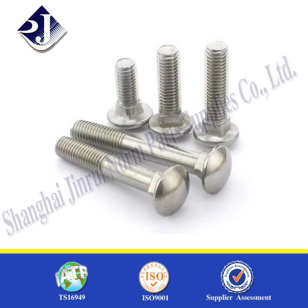 """1//4/""""-20 Hot Dipped Galvanized Carriage Bolts Coach Bolts Select Length /& Qty"""