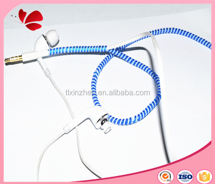 telephone wire earphone charger cable spiral cord protector