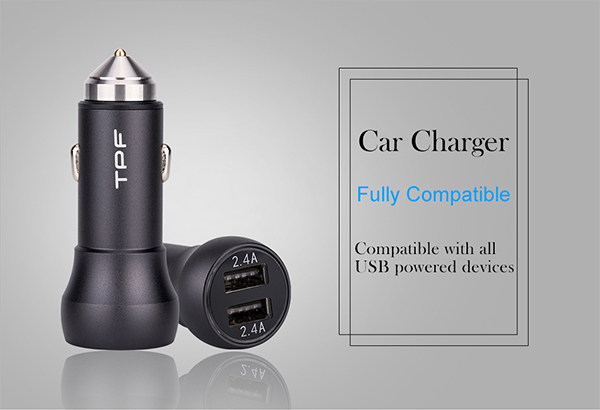 2018 latest new technology Q.C3.0 Digital Car charger