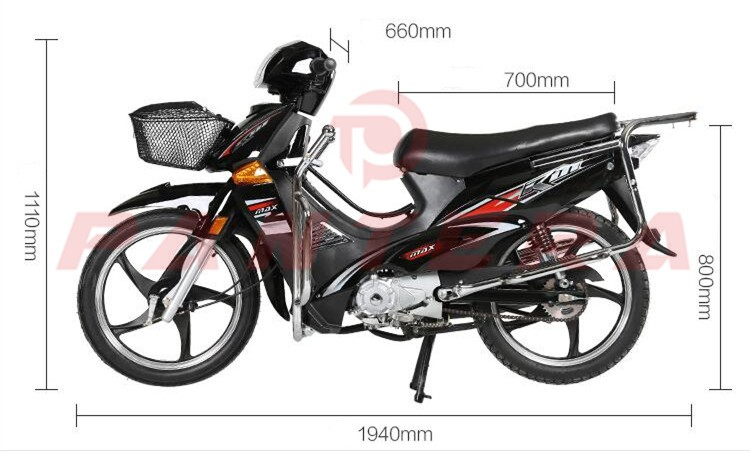 China Chongqing Cheap Wave 110 Cub 110cc Motocicleta