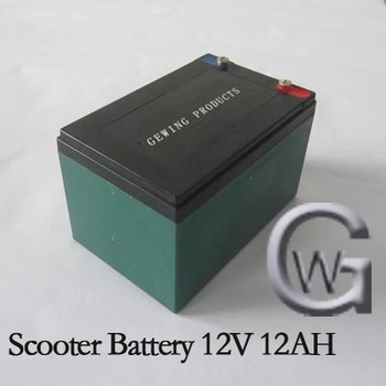 scooter battery 12 v 12ah 20hr battery 12v 12ah small rechargeable