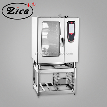Professional commercial combi oven with 6 /10 /20 trays