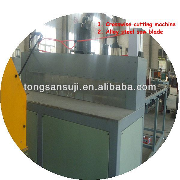 PVC XPS polycarbonate WPC foaming  board  plate extrusion machine production line