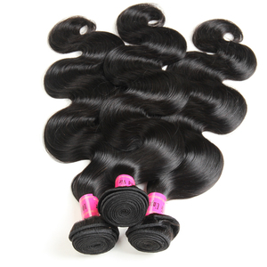 Ms Mary Hair Products 8A Grade Brazilian Body Wave 3 Bundles 100% Virgin Hair