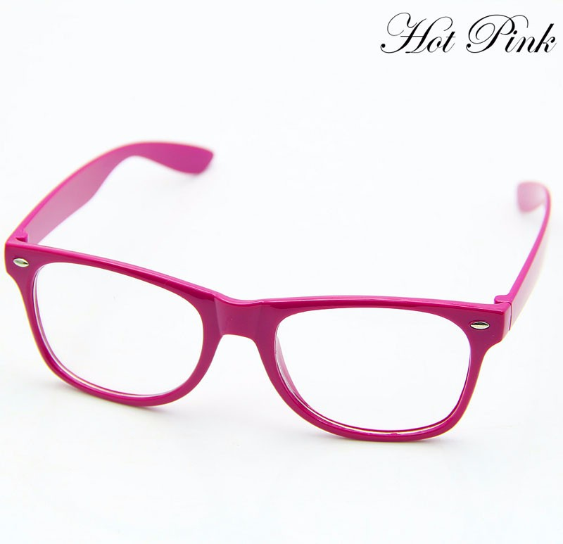 3a3623359bd1 2019 Wholesale Fashion Glasses Cool Unisex Clear Lens Nerd Geek ...