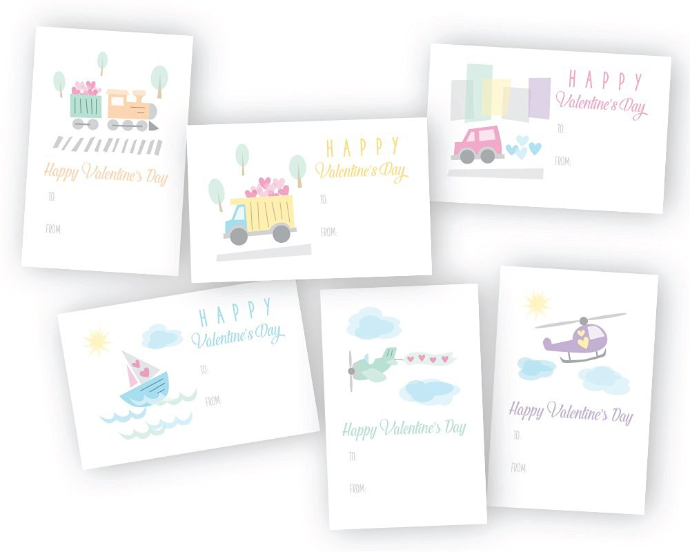 Buy Land Sea And Air Travel Classroom Valentines Day Exchange