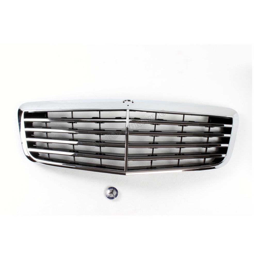 Chrome Auto Front Grill Grille Mesh For Mercedes Benz B: Online Buy Wholesale Mercedes Benz Grill From China