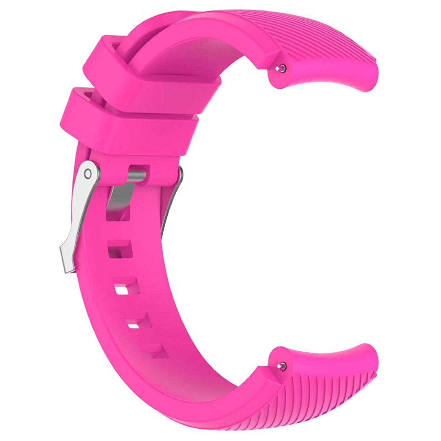 Owill Replacement Soft Comfortable Silicone Sports Watch Band Wrist Strap For HUAMI Amazfit Stratos Smart Watch 2 (Hot Pink)