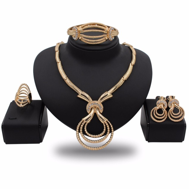 China Costume Gold Jewelry Set Wholesale Alibaba